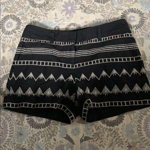 Loft tribal shorts size 0